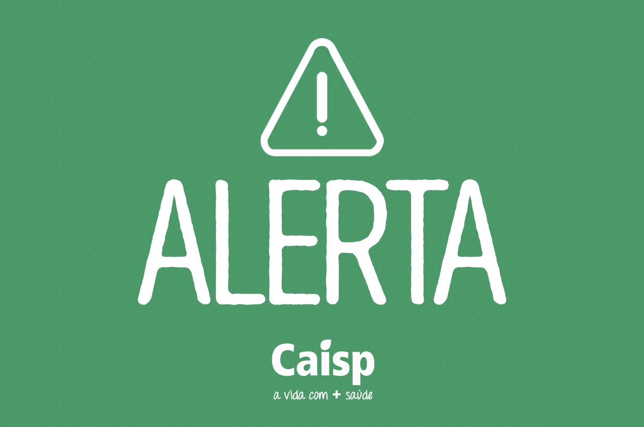 Atenção! Perigo com email fraudulento circulando da Caisp